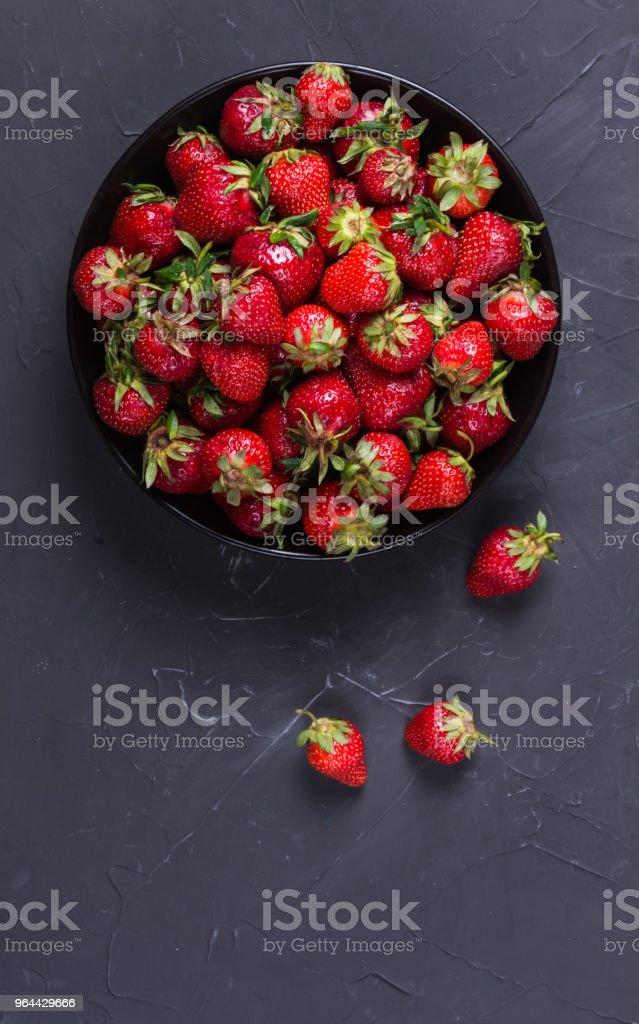 Deliciosos morangos vermelho  - Foto de stock de Alimentação Saudável royalty-free