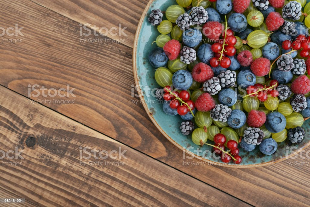 Ripe summer berries royalty-free stock photo