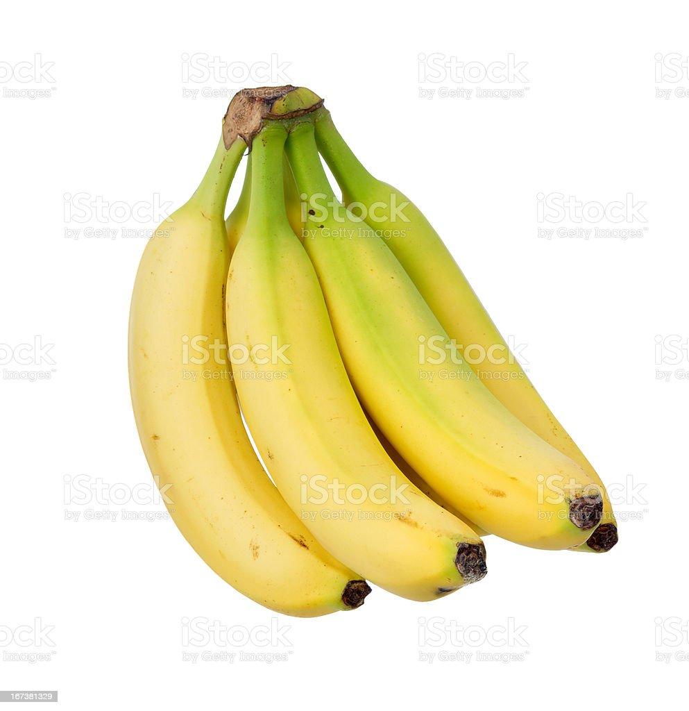 Ripe yellow banana. royalty-free stock photo