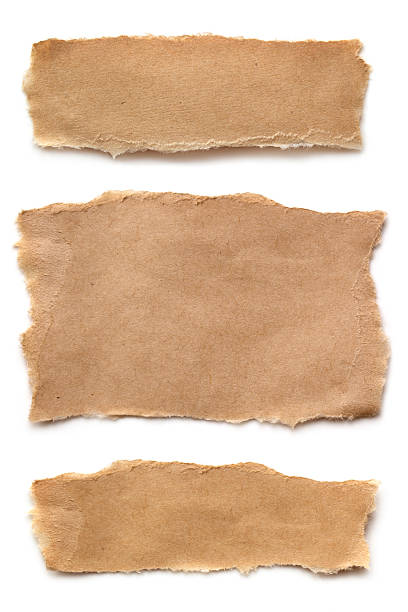 Ripped Brown Paper foto