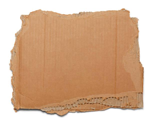 gescheurde kartonnen - bordpapier stockfoto's en -beelden