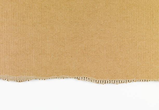 ripped cardboard xxxl - bordpapier stockfoto's en -beelden