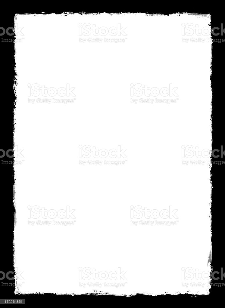 ripped paper border stock photo