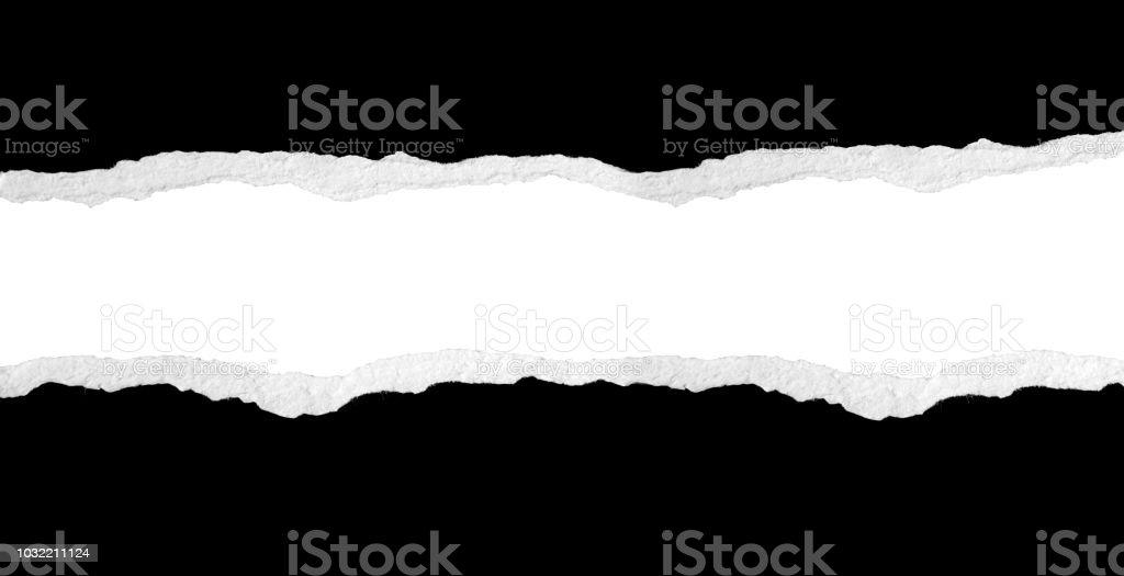 Zerrissene Papier – Foto