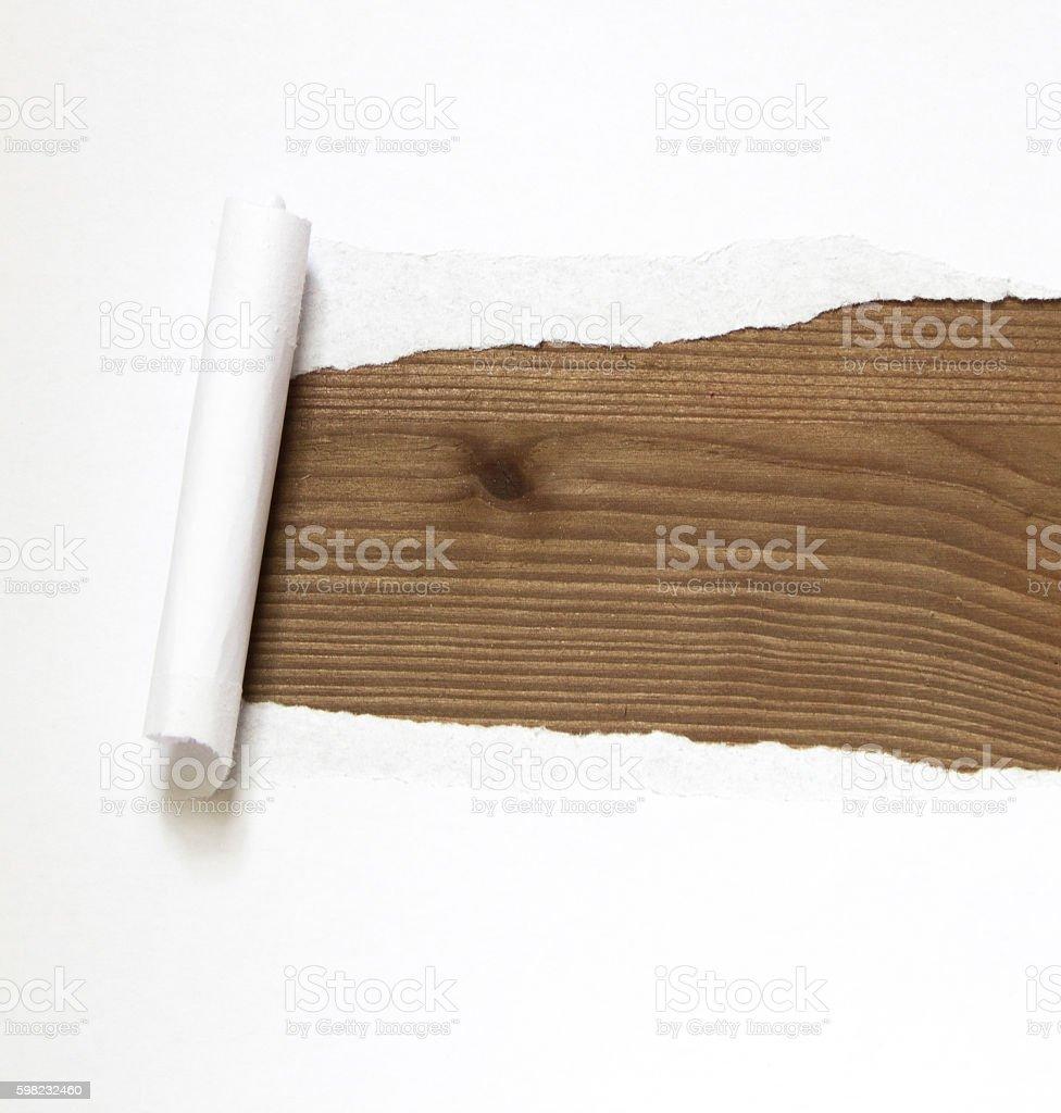 Movendo papel foto royalty-free