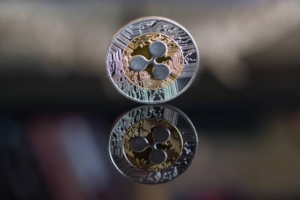Ripple Kryptowährung Münze – Foto