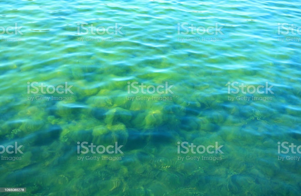 ripple on water stock photo