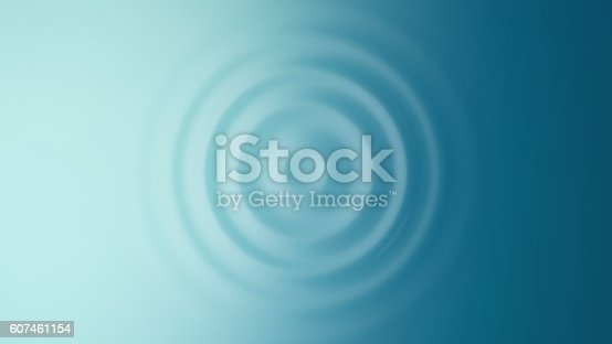 859844580 istock photo Ripple. Top view. 607461154
