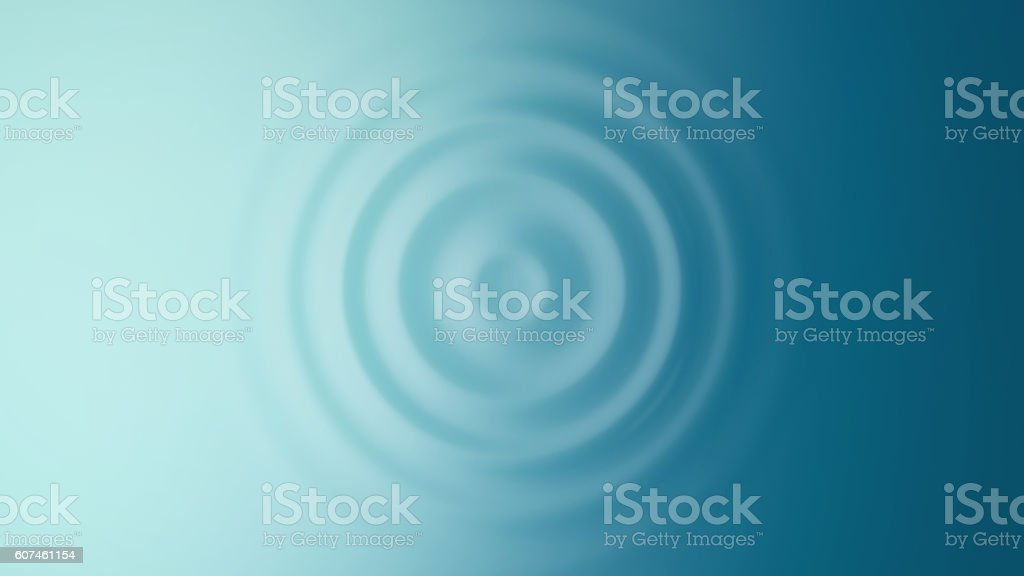Ripple. Top view. stock photo