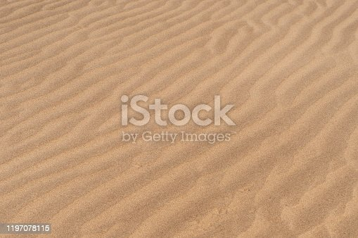 Texture of the sand