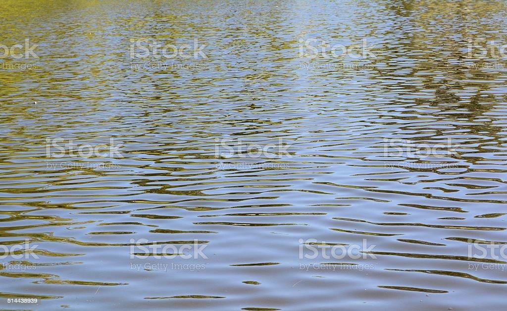 Rippled Water stock photo
