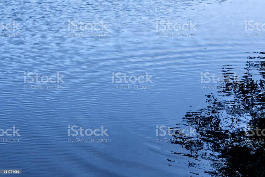 Ripples in Water stock photo