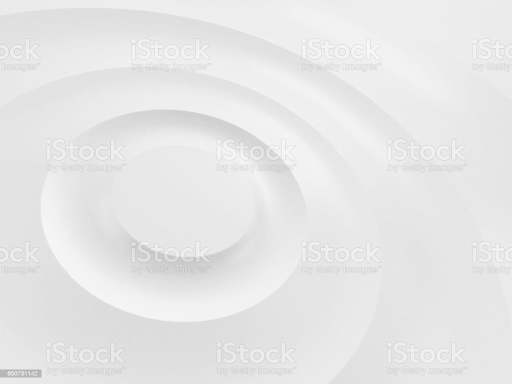 Ripples on a white surface. stock photo