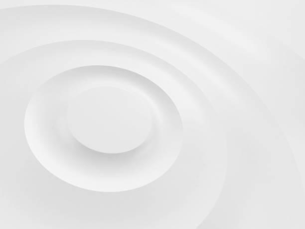 ondulations sur une surface blanche. - cercle concentrique photos et images de collection