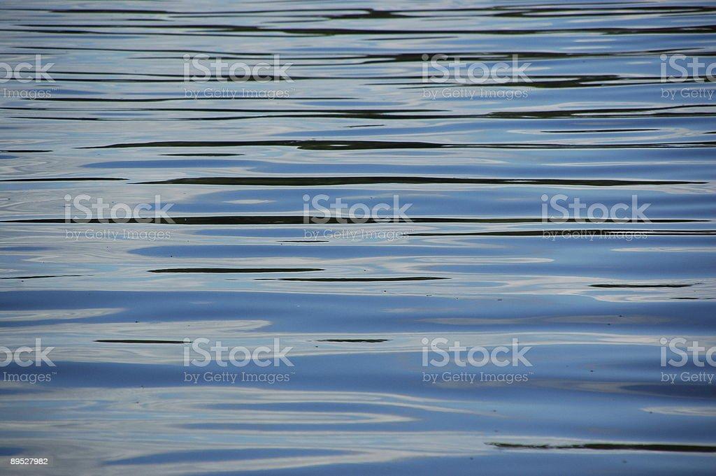Ripples on water royalty-free stock photo