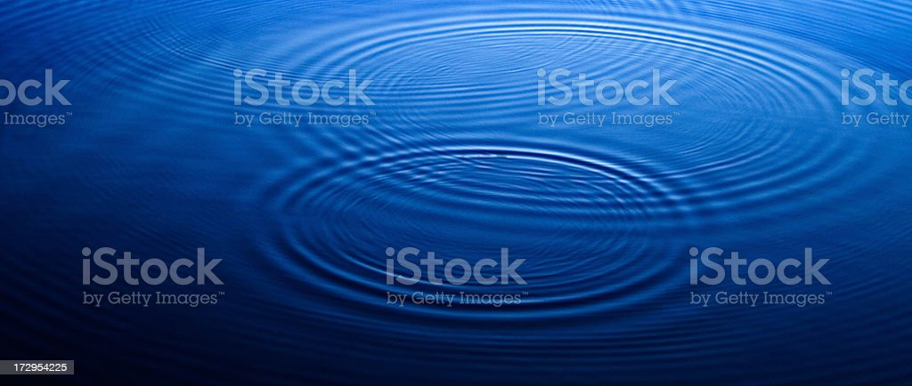 Ripples royalty-free stock photo