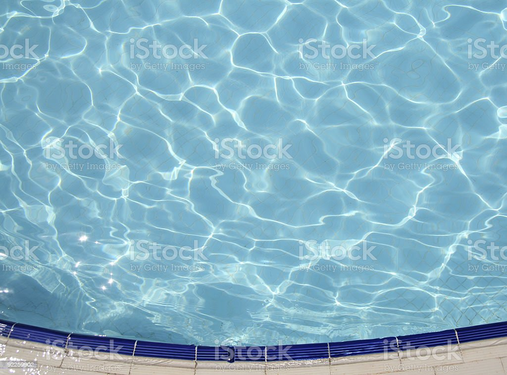 Rippling Water royalty-free stock photo