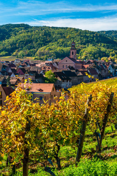 Riquewihr in France stock photo