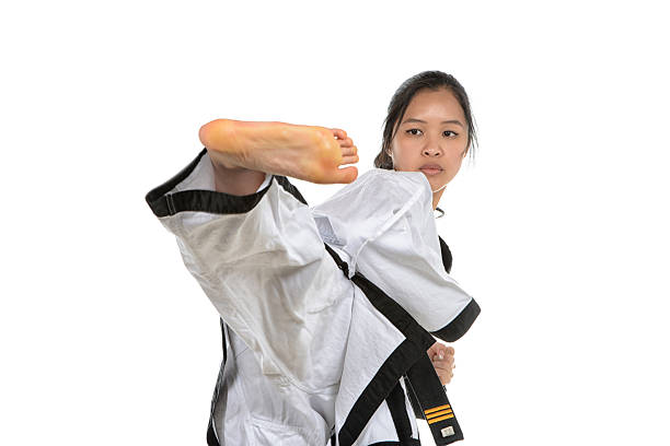 rise and focus - martial arts gerville stock photos and pictures