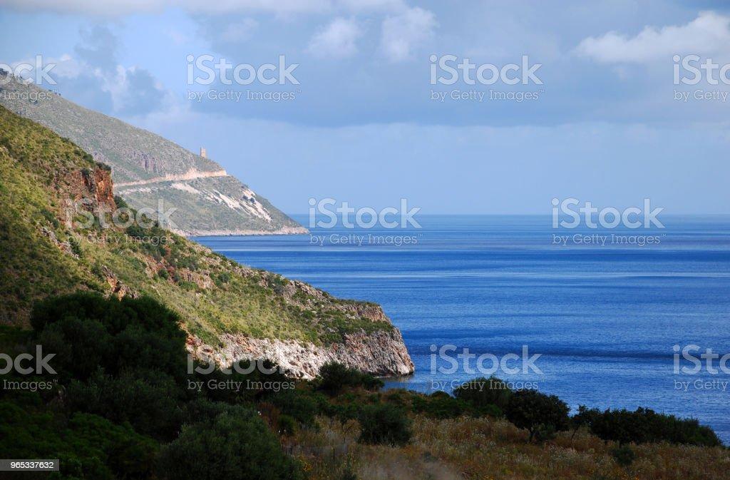 Riserva dello Zingaro zbiór zdjęć royalty-free