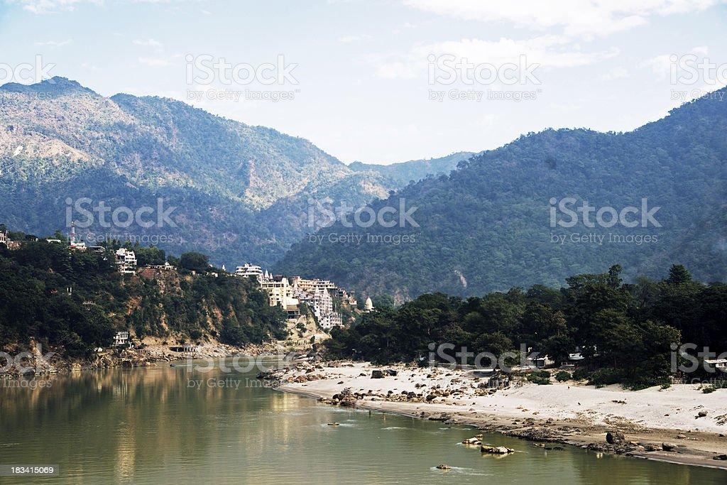 Rishikesh stock photo