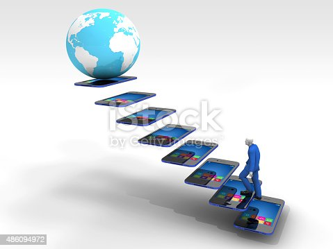 istock Rising Communication Technologies and Mankind 486094972