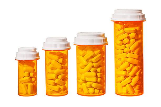 Rising Cost of Prescripton Drugs stock photo