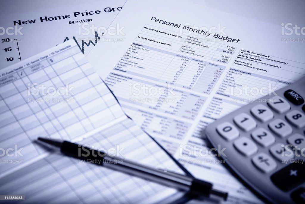Rising Costs, Finance Series royalty-free stock photo