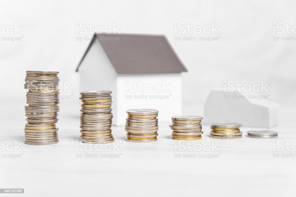 Rising costs of home maintenance. stock photo