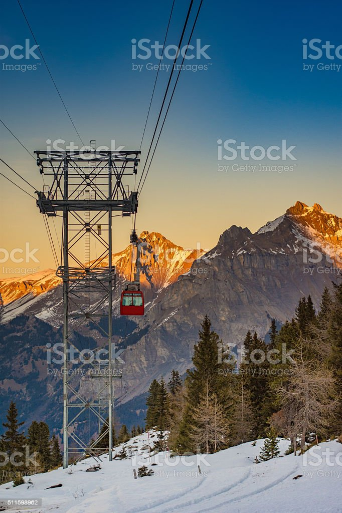 Rising from the Shadows - Royalty-free Cable Stock Photo
