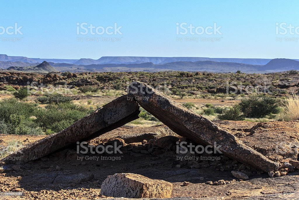 Rising Ground stock photo
