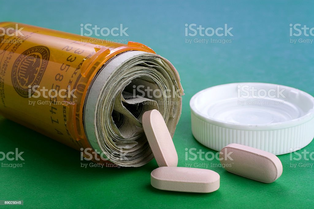 Rising Healthcare Costs royalty-free stock photo