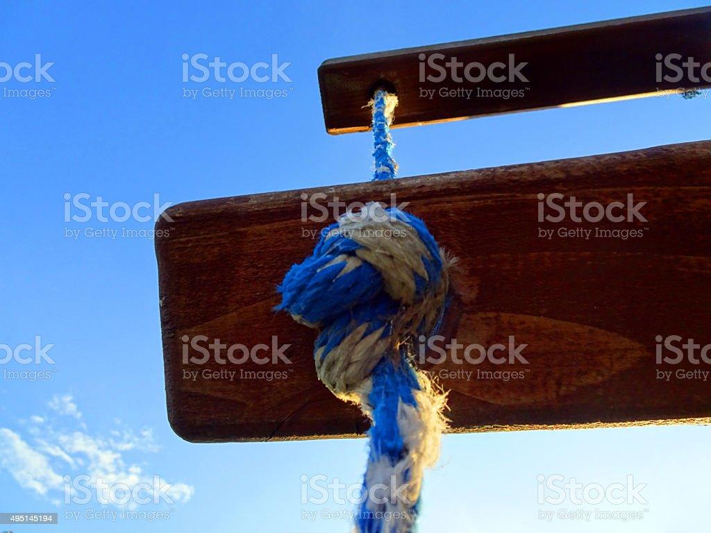 Rising Ladder stock photo