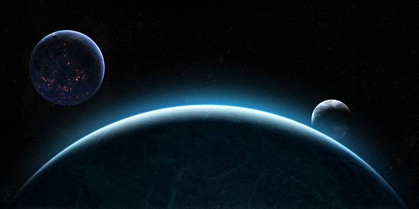 Rising Monde in space – Foto