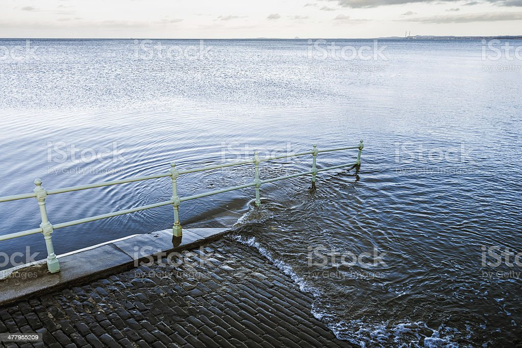 Rising Sea stock photo
