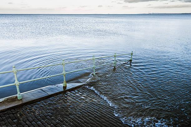 Rising Sea stock photo