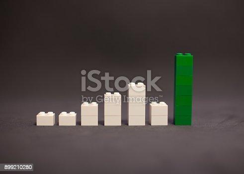 istock Rising value graphic 899210280