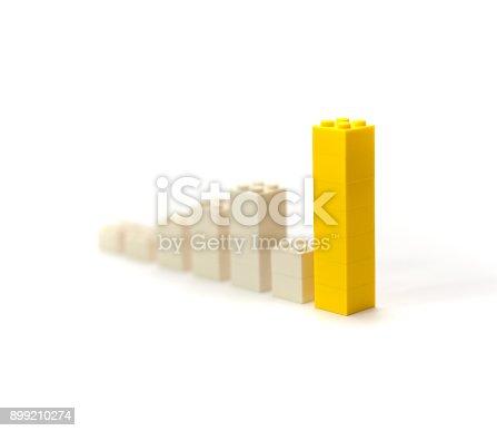 istock Rising value graphic yellow 899210274