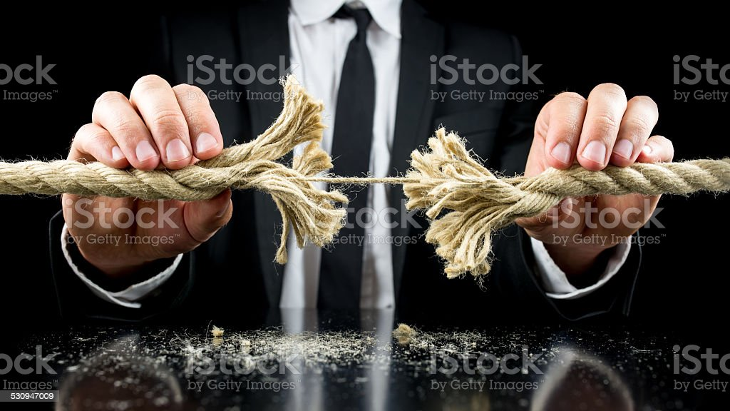 Risk and adversity concept stock photo