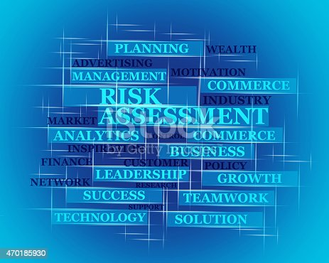 Risk Assessment word concept