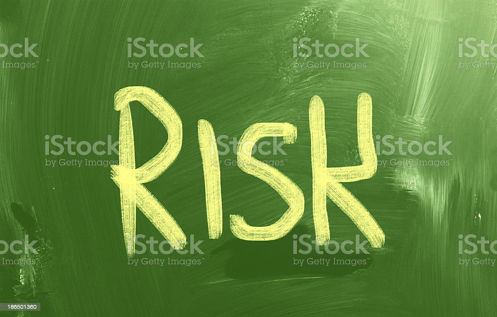 Risk Concept royalty-free stock photo
