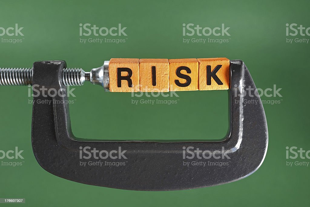 Risk Control royalty-free stock photo