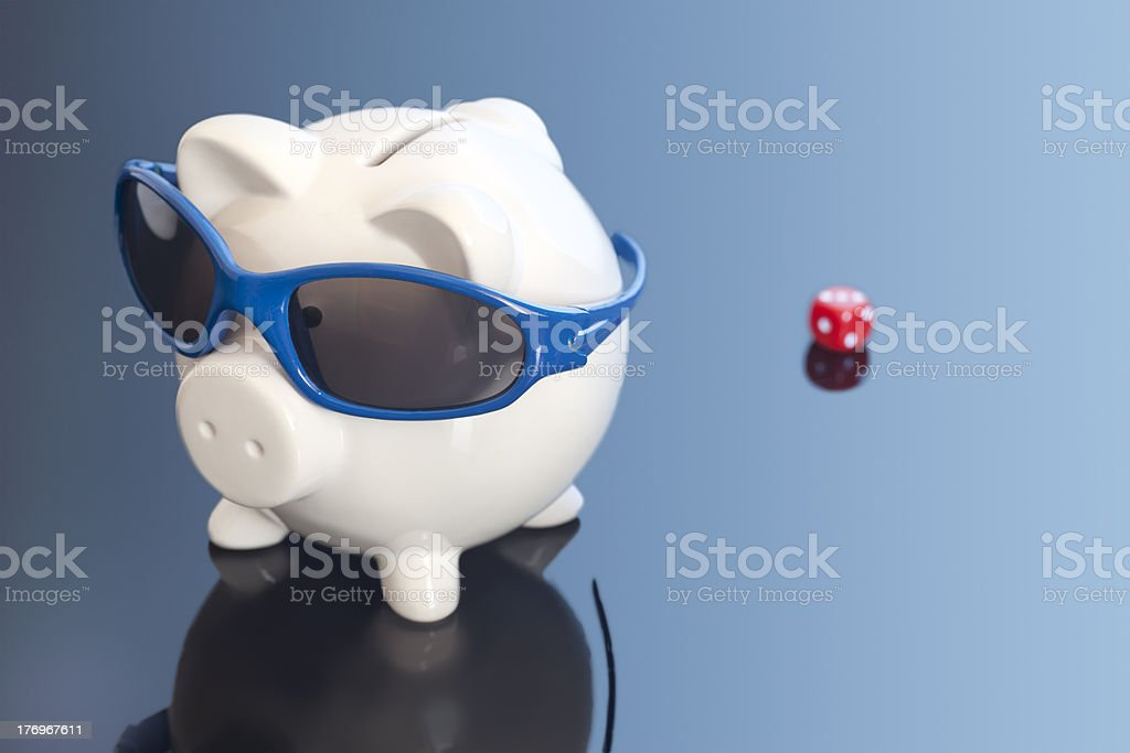 Risk Holiday royalty-free stock photo