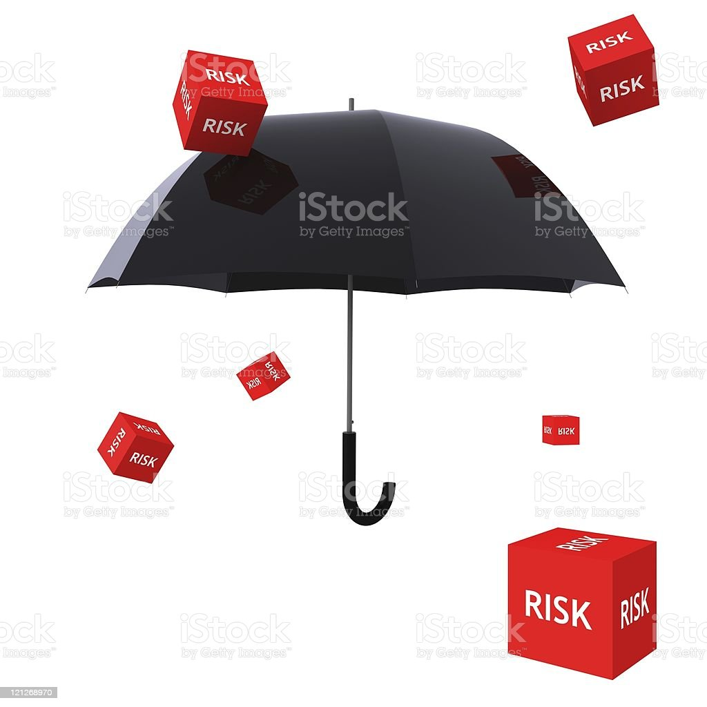 Risk Insurance royalty-free stock photo