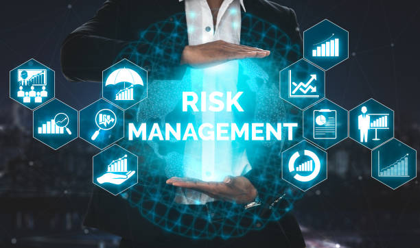 risk management and assessment for business - rischio foto e immagini stock