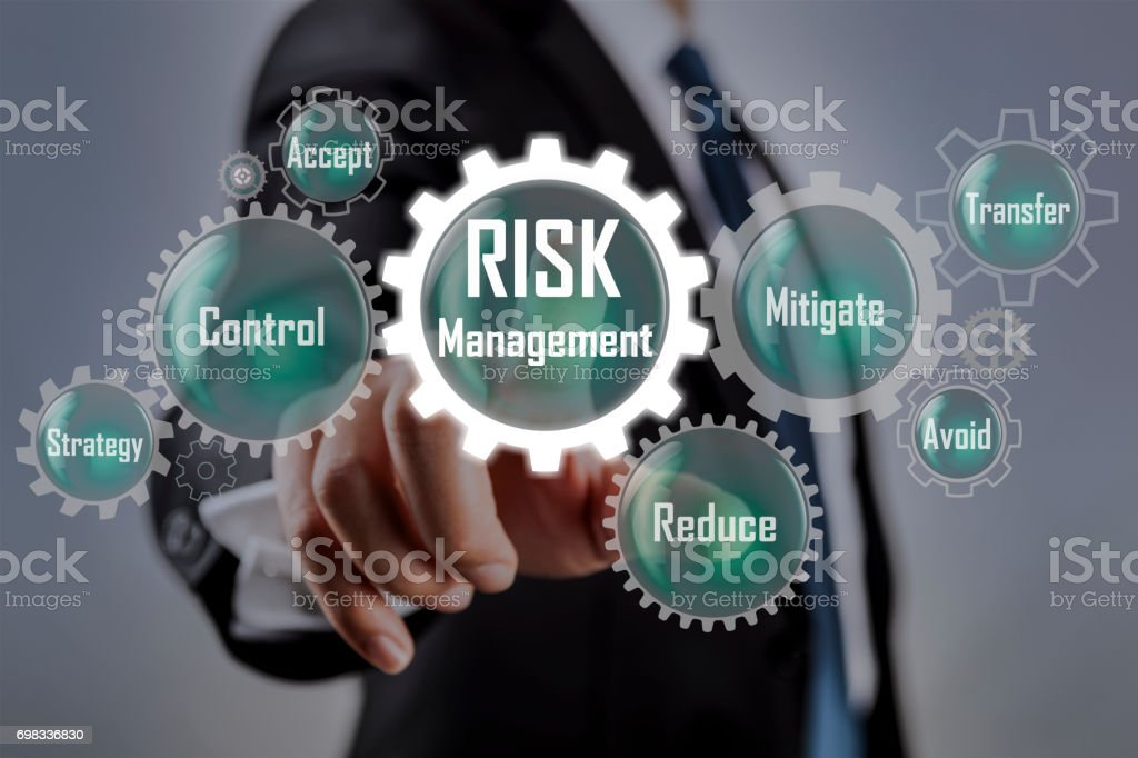 Risk Management Concept on stock photo
