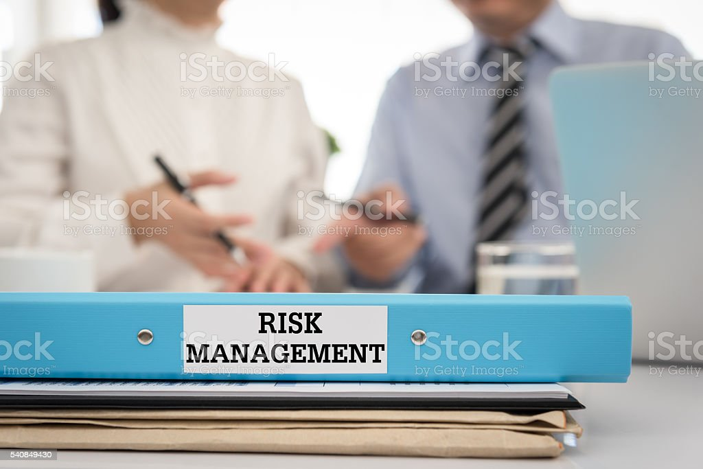 risk management stock photo