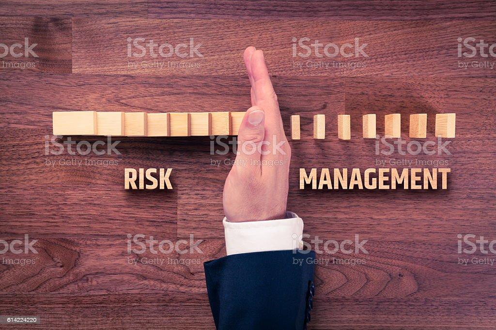 Risikomanagement management  Lizenzfreies stock-foto