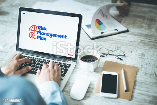 istock Risk Management Plan Concept 1124699562