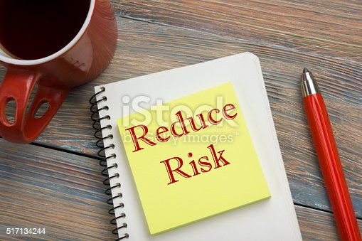 istock Risk management strategies - avoid, exploit, transfer, accept, reduce, ignore 517134244